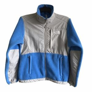 The North Face Blue ZIP Up Polartec Fleece Jacket